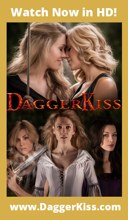 Dagger Kiss key art poster w type
